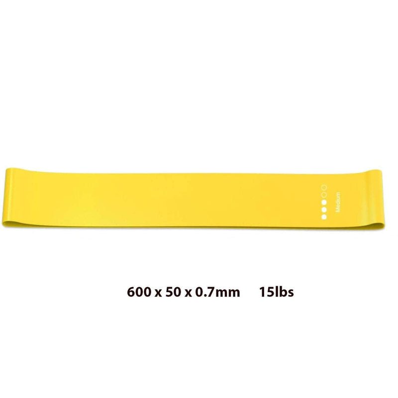 Dojonix Yellow Dojonix Resistance Loop Bands | Resistance Exercise Bands for Home Fitness & Physical Therapy OODS0000990