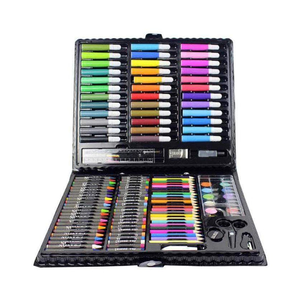DrawBee DrawBee 150 Pcs Kids Art Supplies for Drawing, Painting and More with Portable Art Box OODS0000522