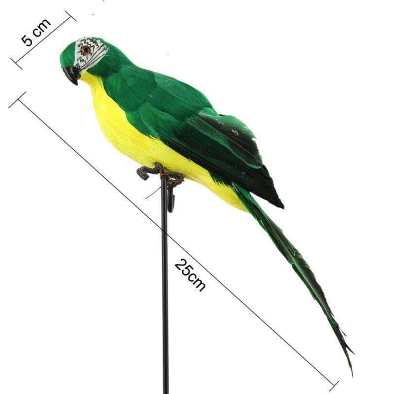 EliteMaker Artificial Simulation Parrot Decoration - Ooala
