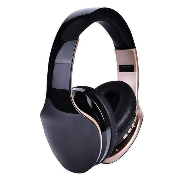 Exeligo Over-Ear Foldable Bluetooth Headphones | Wireless and Wired Stereo Headset with Microphone - Ooala