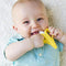 Faybey Safe Baby Teether Toys BPA Free, Banana Teething Ring Silicone Chew, Dental Care Toothbrush - Ooala