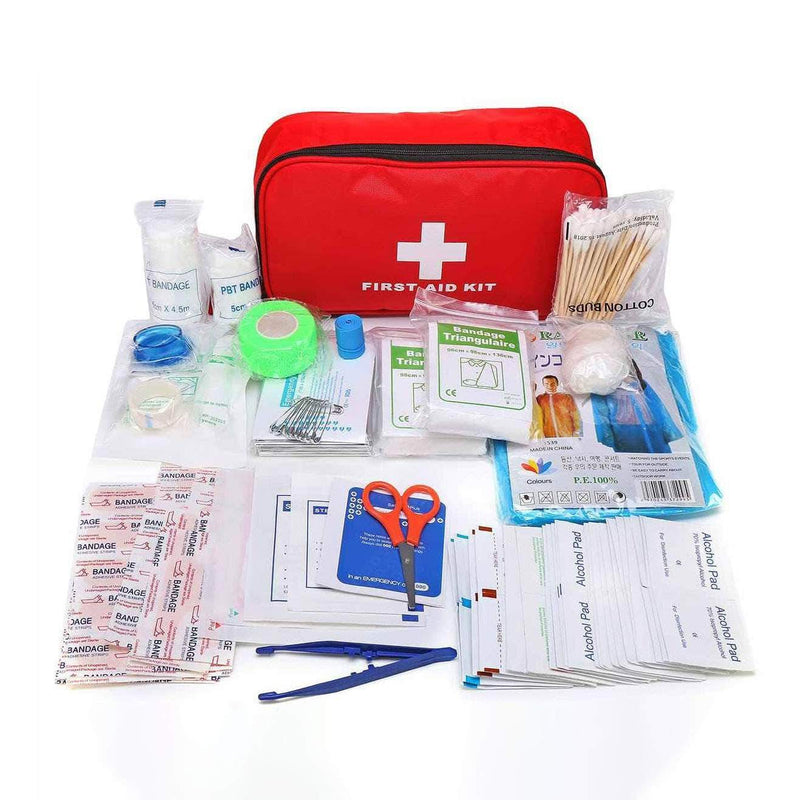 FlexAid FlexAid 180 Pieces First Aid Kit with Durable and Compact Bag for Home & Outdoors OODS0000019