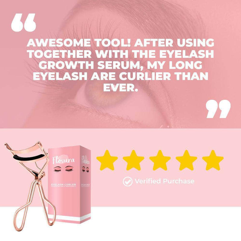 Flovura Flovura Professional Eyelash Curler Eye Lashes | Curling Clip Makeup Tool OODS0001293