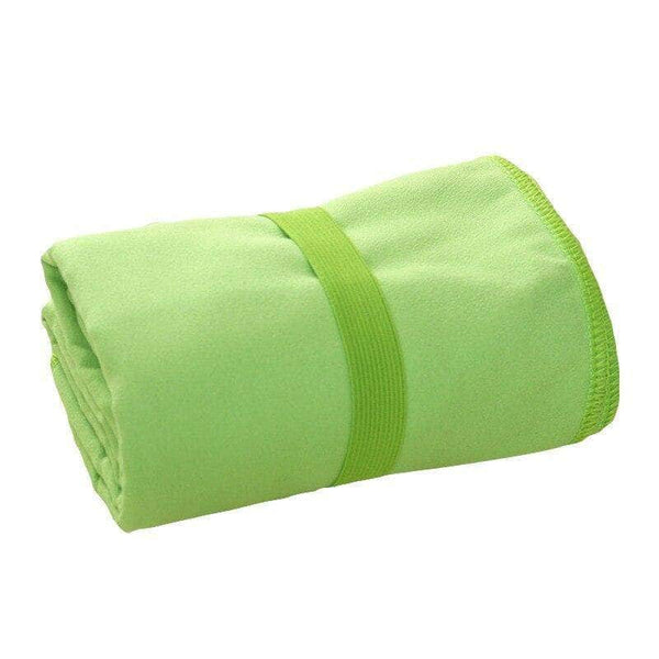 Foldeck Green Naturepad Super Drying Absorbent Soft Lightweight Microfiber Towel for Travel and Sports OODS0000621