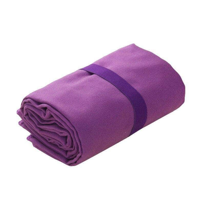 Foldeck Purple Naturepad Super Drying Absorbent Soft Lightweight Microfiber Towel for Travel and Sports OODS0000622