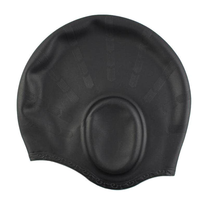 FullSplash Black FullSplash Swimming Caps | Durable, Flexible and Silicone OODS0000790