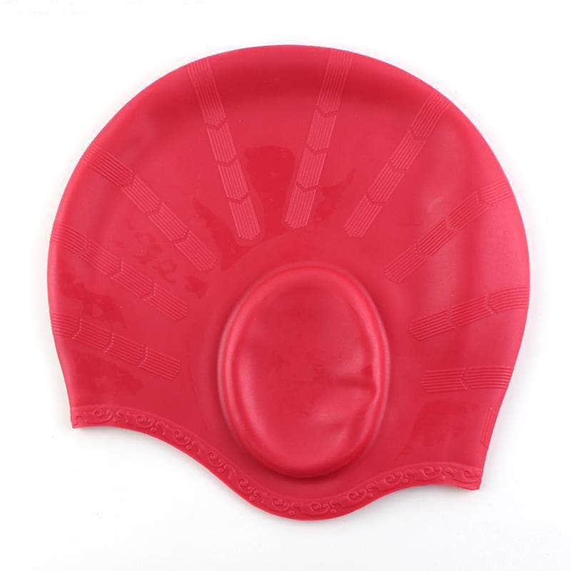 FullSplash Red FullSplash Swimming Caps | Durable, Flexible and Silicone OODS0000794