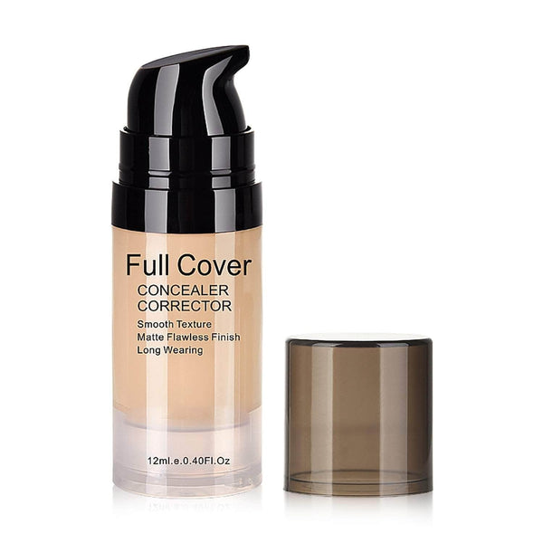 GirlFactor GirlFactor Full Coverage Liquid Concealer | Color Correcting Makeup