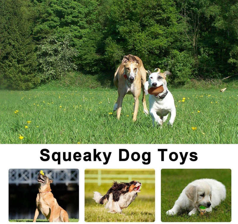 Goniry Squeaky Plush Toys for Puppy, Small & Medium Dog Pets - Ooala