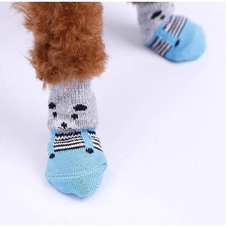 HappyYappy HappyYappy Anti-Slip Pet Socks for Dogs and Cats