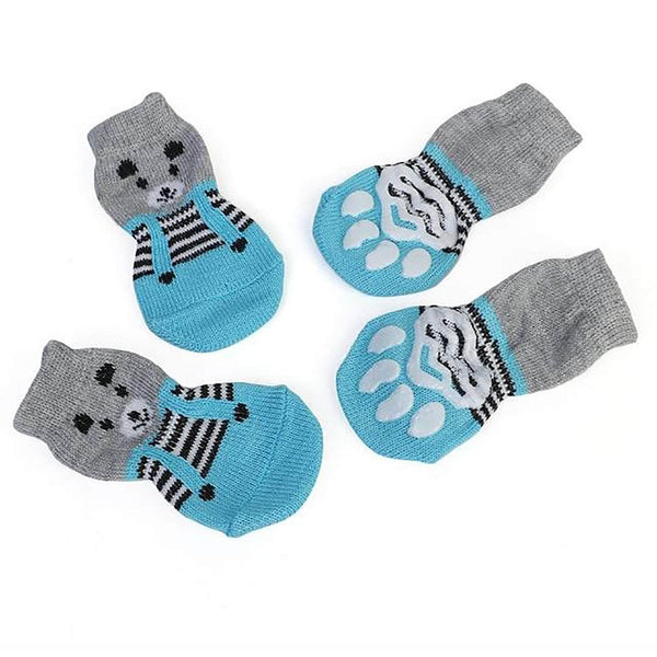 HappyYappy S HappyYappy Anti-Slip Pet Socks for Dogs and Cats OODS0000710