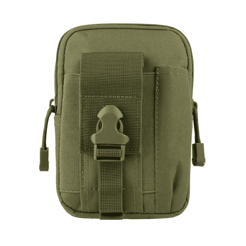 Haspex Green Haspex Men Tactical Molle Pouch, Belt Waist Pack Bag, Travel Camping Bag OODS0001428