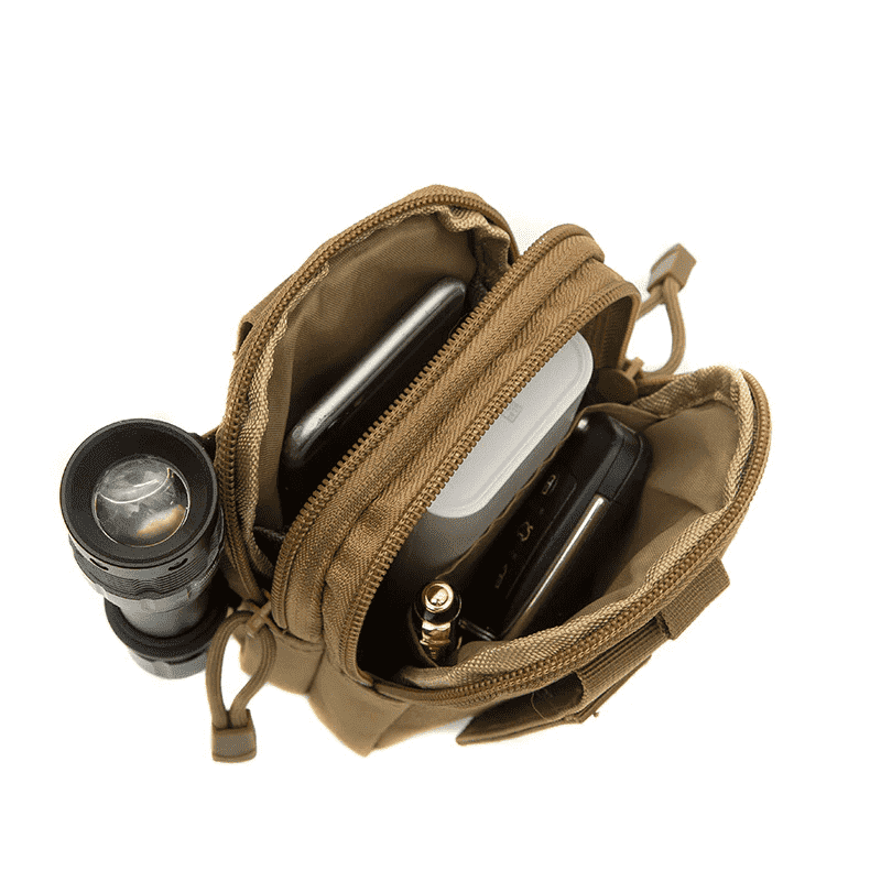 Haspex Haspex Men Tactical Molle Pouch, Belt Waist Pack Bag, Travel Camping Bag