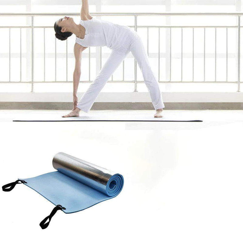 HealthyLifestyle 6mm Thick High Quality EVA Non-slip Yoga Mat for Fitness, Sports & Gymnastic - Ooala