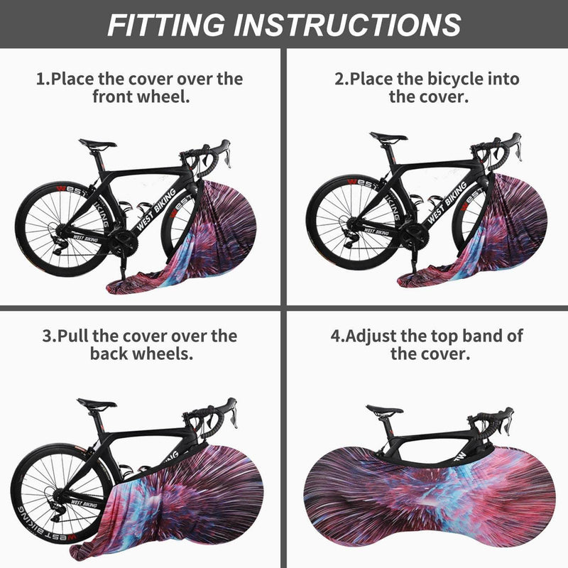 Hikush Indoor Bike Cover