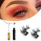 HotGlam HotGlam Magnetic Eyelashes and Eyeliner Kit, 3-Pairs OODS0001345