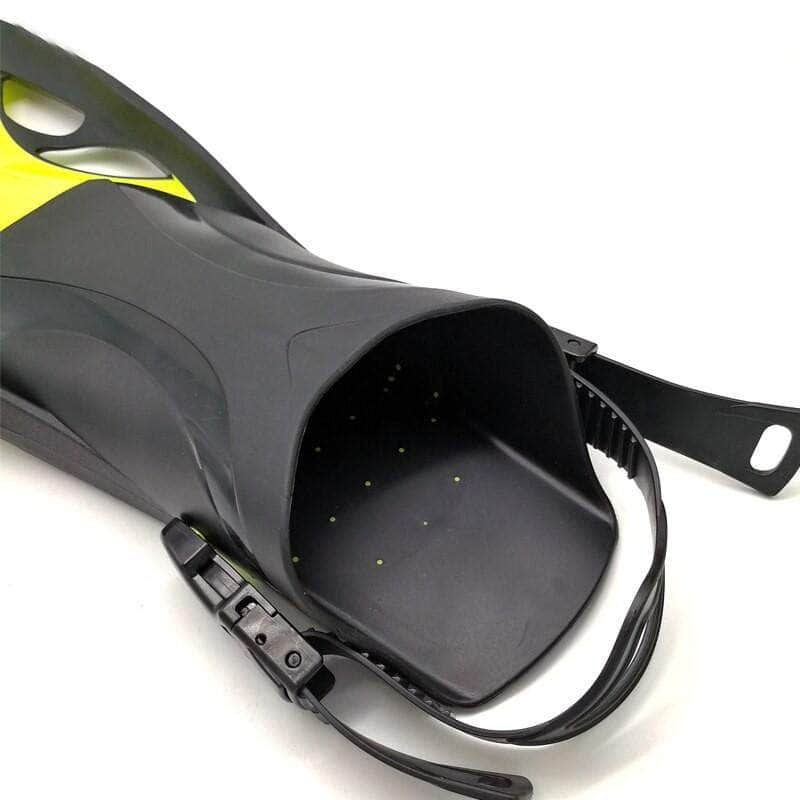 Hydrateq Hydrateq Professional Scuba Diving Fins | Adjustable Silicone Monofin Diving Flippers