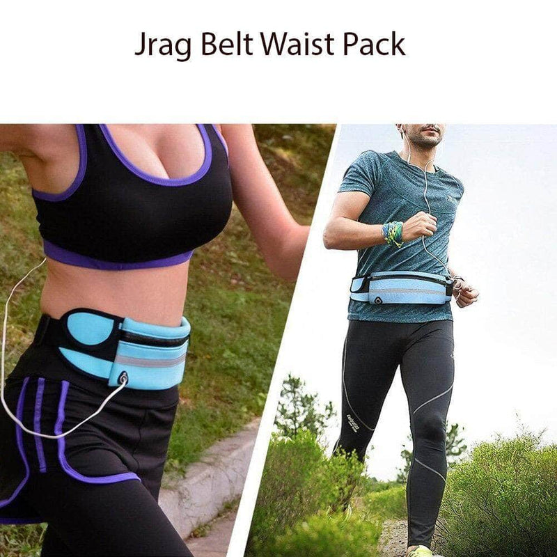 JRag JRag Adjustable Water Resistant Running Waist Bag