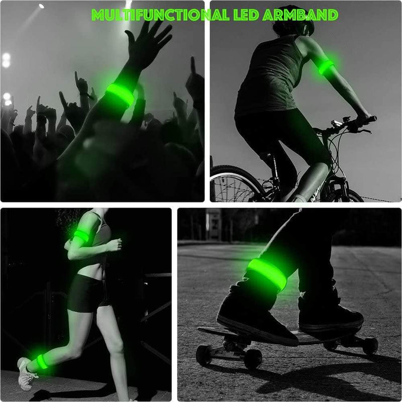JRag JRAG LED Reflective Silicon Armband Light for Night Outdoor Sport