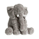 Kidate 60cm / gray Kidate 24 Inches Plush Elephant Stuffed Toy OODS0000515
