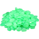Luminatra Flais Glow in the Dark Pebbles for Garden Walkway Patio Lawn Yard & Fish Tank Decorations│50 Pcs