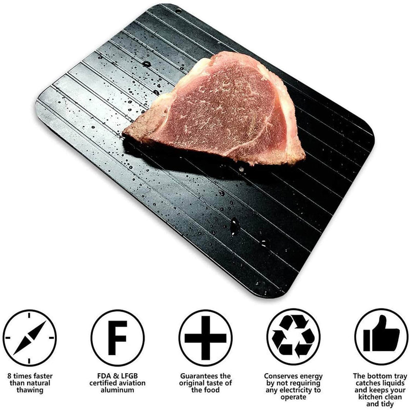 MadFood MadFood Defrosting Tray | Thaws Frozen Food Faster OODS0000726
