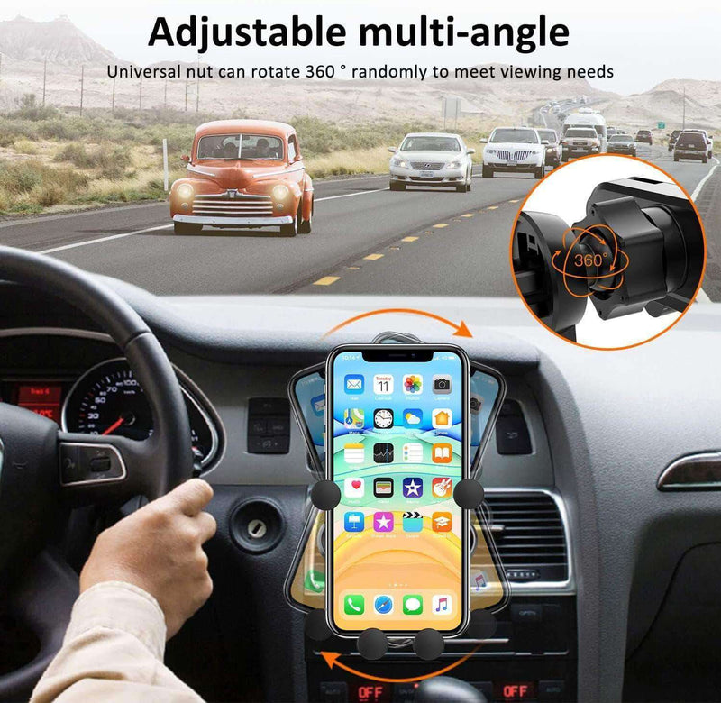 Maxholder Car Phone Mount Gravity, Automatic Locking Universal Air Vent GPS - Ooala