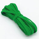 Modish Green Modish Elastic Bands for Sewing and Crafting | 6mm, 5-Meters OODS0001332