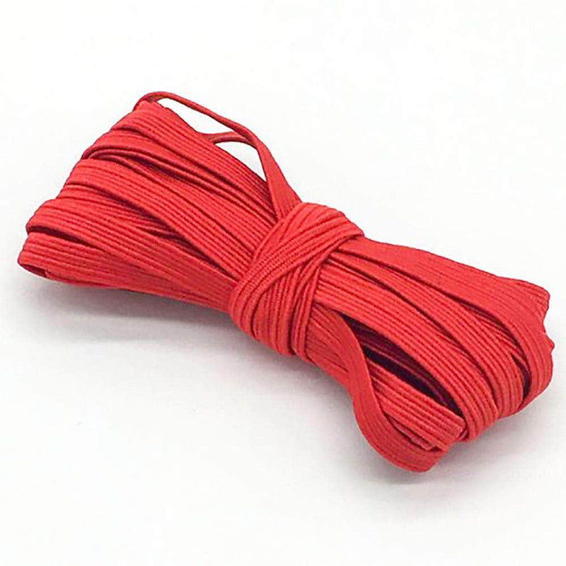 Modish Red Modish Elastic Bands for Sewing and Crafting | 6mm, 5-Meters OODS0001331