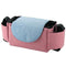 Muar Pink Muar Stroller Organizer Multifunctional Adjustable Baby Stroller Storage Bag OODS0000693