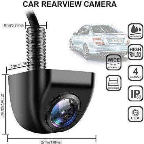 Neutron Car Rear View Night Vision Camera | 170° Wide Angle for Vehicle Backup / Reverse, Waterproof - Ooala