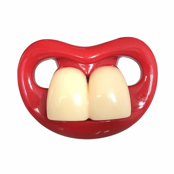 Nipplistic Two Front Teeth 1 Nipplistic Silicone Dummy Soother Pacifier | Orthodontic Nipples Teether Baby Pacy OODS0001249