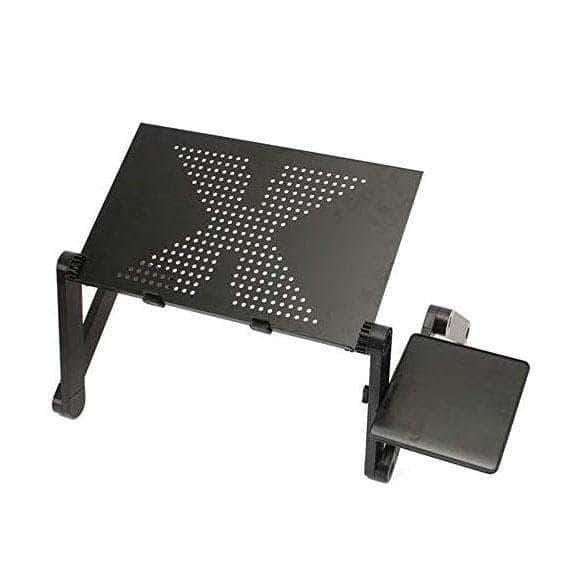OFC Adjustable Laptop Desk | Portable Aluminum Lapdesk Tray - Ooala