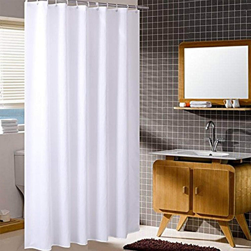 Olive's Collection Heavy Weight Waterproof Shower Curtain | 150x180cm - Ooala