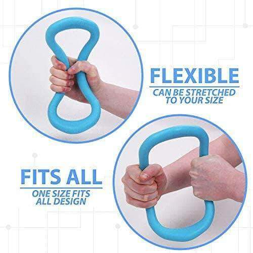 Omza Omza Yoga and Pilates Exercise Fitness Training Ring, Great for Back Arm and Leg Pain