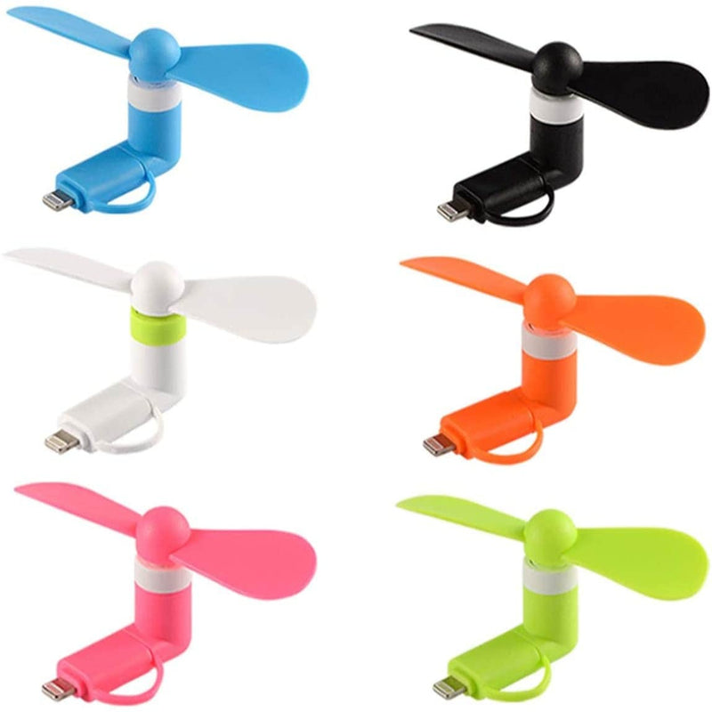 Fannetic Mini Cell Phone Fan for iPhone/iPad and Android