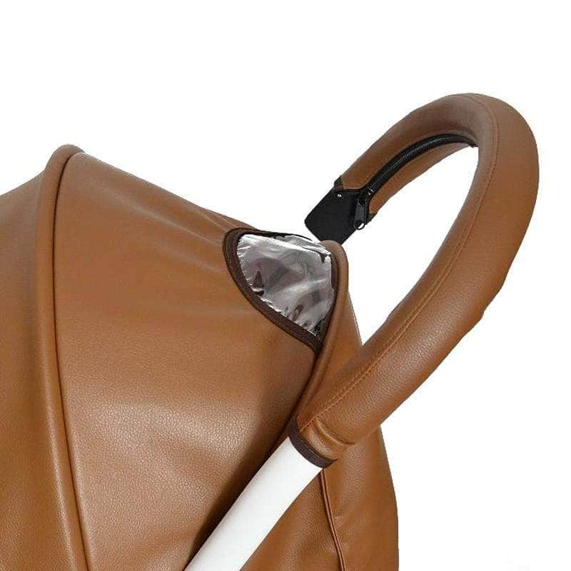 Ooala 2018 Baby stroller Handle PU Leather Pushchair Armrest Case Protective Cover For babyyoya yoya yoyo Pram Stroller Accessories