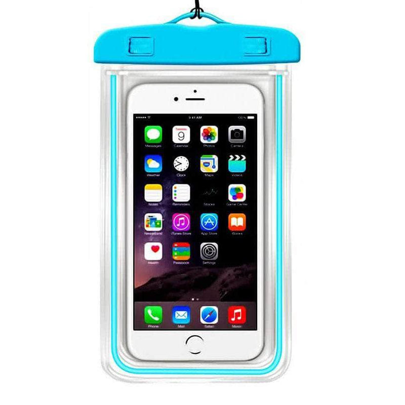 Ooala Blue Color Luminous Waterproof Pouch OODS0001273
