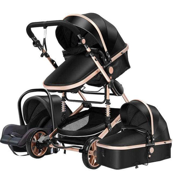Ooala CHINA / 2 Baby Stroller 3 in 1 luxury umbrella baby strollers High Landscape Stroller Folding strollers baby trolley baby pram 18686215-china-2
