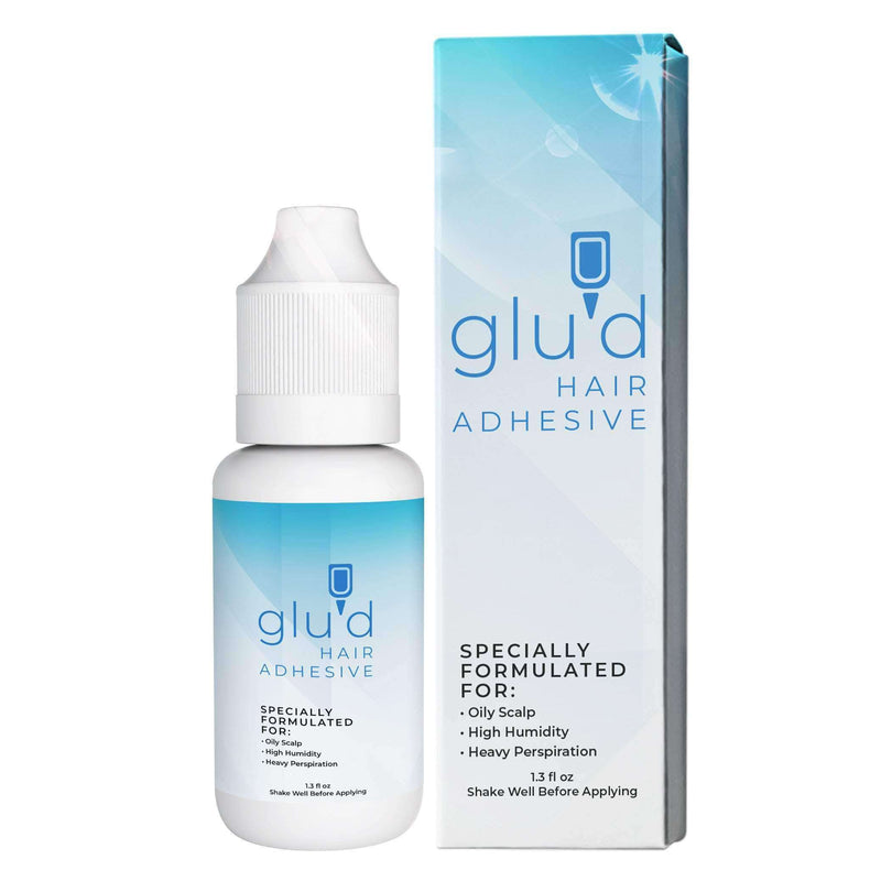 Glu'd Wig Glue | Hair Replacement Adhesive | Invisible Wig Glue For Front Lace Wig Waterproof - Ooala