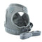 Ooala Gray Pittex Adjustable Cat & Dog Vest Harness with Reflective Strap│Extra Small 16717568-gray-xs