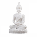GREENHome Garden Buddha Statue, Naturally Made Sandstone Miniature
