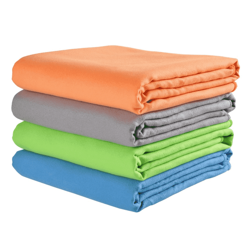 Ooala Microfiber Towels for Travel Sports Fast Drying Super Absorbent Ultra Soft Lightweight Camping Gym Beach Swimming Hiking Yoga