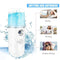 Lores Portable Moisturizing Mist Sprayer Mini Nano Facial Steamer Skin Care with USB Rechargeable - Ooala