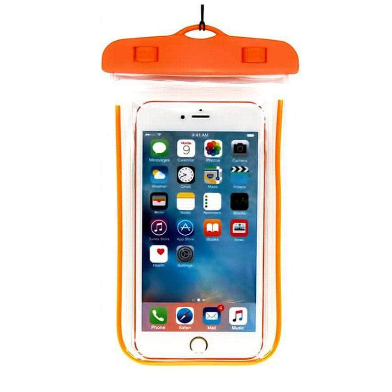 Ooala orange Luminous Waterproof Pouch OODS0001274