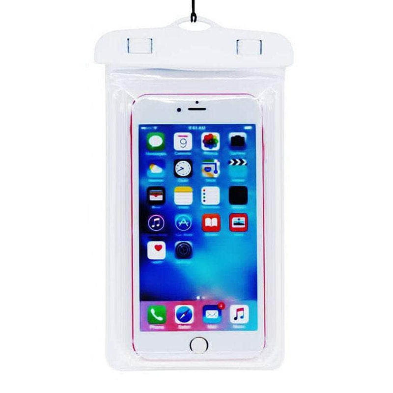 Ooala White Color Luminous Waterproof Pouch OODS0001275