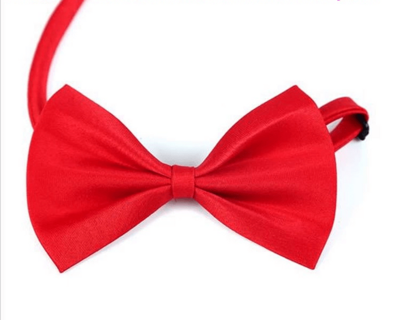 PetHubby Dog & Cat Necklace Bow Ties, Adjustable Strap Pet Accessories