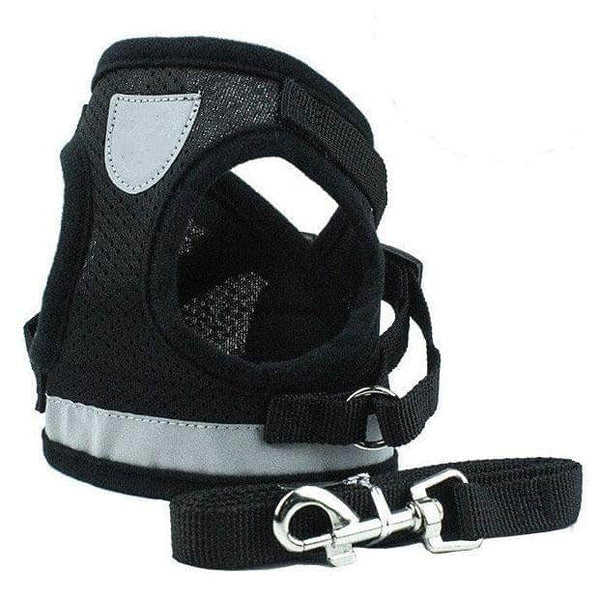 Pettix Pettix Adjustable Cat & Dog Vest Harness with Reflective Strap│Large Size
