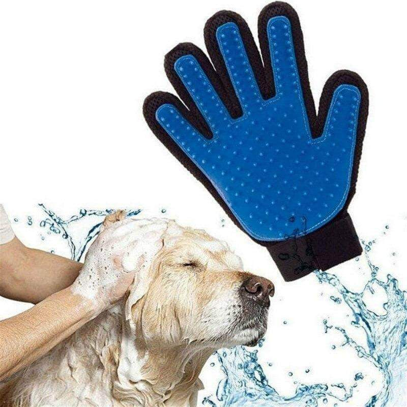 Pexmon 1pc Pet Grooming Glove | Hair Remover Brush, Gentle DeShedding for Cats & Dogs - Ooala