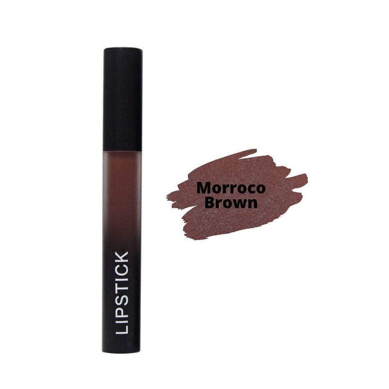 PlumKiss Morroco Brown PlumKiss Liquid Matte Lipstick | Long-Lasting, Transfer and Kiss Proof OODS0001149